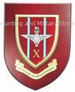 10th Battalion Parachute Regiment Military Wall Plaque